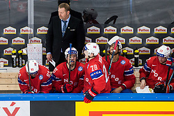 Petter Thoresen, head coach of Norway during the 2017 IIHF Men's World Championship group B Ice hockey match between National Teams of Norway and Switzerland, on May 7, 2017 in Accorhotels Arena in Paris, France. Photo by Vid Ponikvar / Sportida