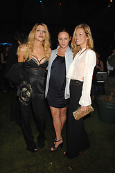 Left to right, COURTNEY LOVE, STELLA McCARTNEY and KATE MOSS at a party to celebryate the launch of the Spring Summer 2008 adidas collection by Stella McCartney held at the Westway Sports Centre, off Latimer Road, London W10 on 20th September 2007.<br />