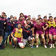 Roma 14/04/2018 Caserma Gelsomini<br /> Campionato di eccellenza <br /> Fiamme Oro v Lazio<br /> Le Fiamme Oro festeggiano a fine partita