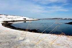 NORWAY FINNMARK 25MAR07 - Small bay in Trollholmsund, Finnmark, Norway's northermost Arctic province...jre/Photo by Jiri Rezac..© Jiri Rezac 2007..Contact: +44 (0) 7050 110 417.Mobile:  +44 (0) 7801 337 683.Office:  +44 (0) 20 8968 9635..Email:   jiri@jirirezac.com.Web:    www.jirirezac.com..© All images Jiri Rezac 2007 - All rights reserved.