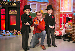 THIS YEARS LATE LATE TOY SHOW PROMISES TO BE SUPERCALIFRAGILILSTICEXPIALIDOCIOUS&hellip;. <br /> Ryan Tubridy is pictured on the set of this year&rsquo;s Late Late Toy with Adam Byrnes (8) Kilkenny and  Sam Kirwan (8) Navan and it promises to be supercalifragililsticexpialidocious! The theme of this year&rsquo;s show is based on the much loved musical film Mary Poppins. Picture Andres Poveda