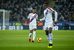 February 23, 2019 - Leicester, England, United Kingdom - Patrick van Aanholt of Crystal Palace passes the ball during the Premier League match between Leicester City and Crystal Palace at the King Power Stadium, Leicester on Saturday 23rd February 2019. (Credit Image: © Mi News/NurPhoto via ZUMA Press)