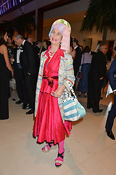 LADY HENRIETTA ROUS at Steps To The Future -in aid of RAFT (Restoration of Appearance & Function Trust) and Walking With The Wounded held at The Hurlingham Club, London on 28th November 2014.