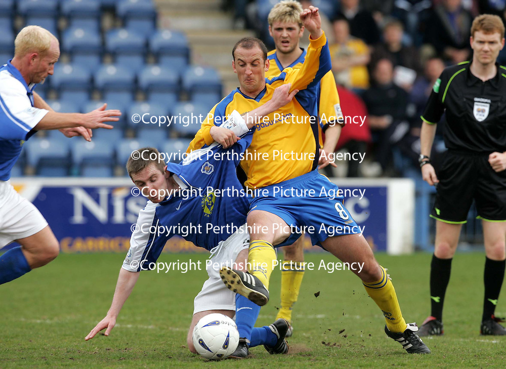 Queen of the South v St Johnstone..30.04.05<br />