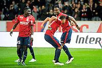 Joie Lille / Divock Origi - 15.03.2015 - Lille / Rennes - 29e journee Ligue 1<br /> Photo : Andre Ferreira / Icon Sport