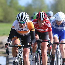 17-04-2016: Wielrennen: Ronde van Gelderland: Apeldoorn    <br />APELDOORN (NED) wielrennen<br />Marianne Vos terug in de koersen liet zich vandaag een paar keer zien