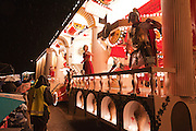 Side view photo of Rome 217AD by Phoenix CC at Bridgwater Guy Fawkes Carnival.