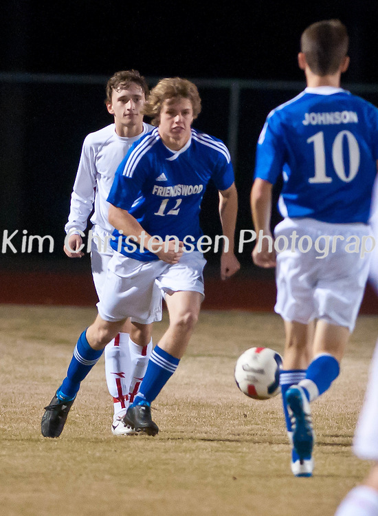Friendswood Varsity Soccer won against Dawson  03/04/11.