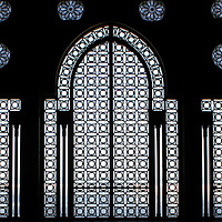 Hassan II Mosque, Entrance - Casablanca, Morocco