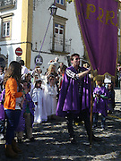 Portugal, Easter Procession in Evrona
