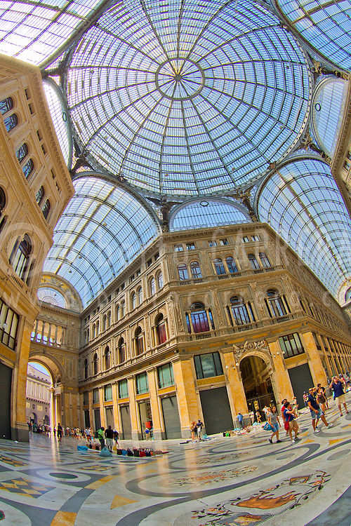 Alberto Carrera, Galleria Umberto I, Naples, Campania, Italy, Europe