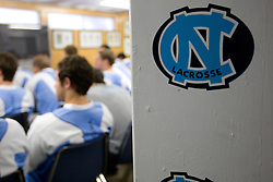 05 April 2008: North Carolina Tar Heels men's lacrosse on game day versus the Virginia Cavaliers in Chapel Hill, NC.