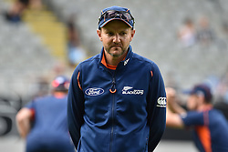 February 17, 2017 - Auckland, New Zealand - New Zealand coach Mike Hesson before the international Twenty20 cricket match between South Africa and New Zealand in Auckland, New Zealand on Feb 17. (Credit Image: © Shirley Kwok/Pacific Press via ZUMA Wire)