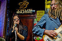 Francis Corazo and Ron Lange of The Missing Keys while playing at Ray's Happy Birthday Bar in South Philly.