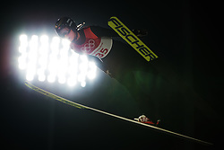 February 12, 2018 - Pyeongchang, SOUTH KOREA - 180212 Maren Lundby of Norway competes in Ski Jumping, Women's Normal Hill Individual Final, during day three of the 2018 Winter Olympics on February 12, 2018 in Pyeongchang..Photo: Joel Marklund / BILDBYRN / kod JM / 87619 (Credit Image: © Joel Marklund/Bildbyran via ZUMA Press)
