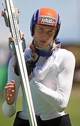 Mitja Meznar of Slovenia at FIS Continental cup Ski-jumping Summer Kranj, on July 6, 2008, Kranj, Slovenia. (Photo by Vid Ponikvar / Sportal Images)<br /> <br /> / Sportida)