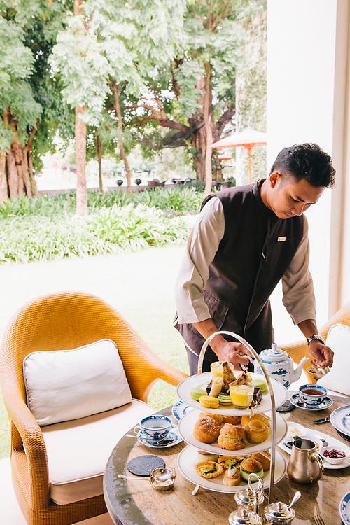 Hight tea at Anantara Chiang Mai Resort & Spa