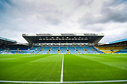 A general view of Elland Road before the EFL Sky Bet Championship match between Leeds United and Brentford at Elland Road, Leeds, England on 21 August 2019.