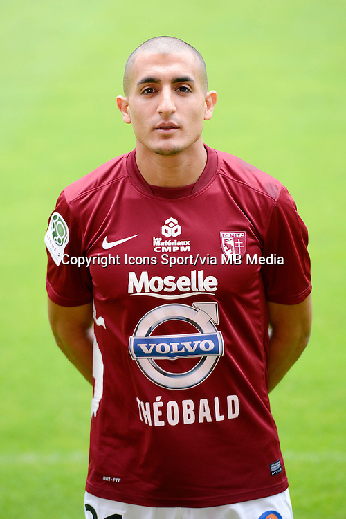 Ahmed KASHI - 25.07.2013 - Photo Officielle - Metz -<br /> Photo : Icon Sport