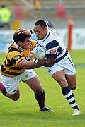 In action during the Taranaki vs Auckland ITM cup match played at Yarrow Stadium New Plymouth New Zealand. Saturday the 7th of September 2013. <br /> Photo John Velvin/Photosport