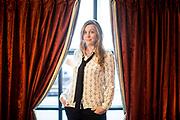 Paris, France. 1er octobre 2015.<br /> Clara Royer, co-scénariste du film Le Fils de Saul