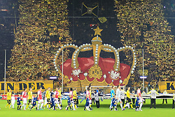 13.09.2011, Signal Iduna Park, Dortmund, GER, UEFA CL, Gruppe F, Borussia Dortmund (GER) vs Arsenal London (ENG), im Bild.Choreo Fans aus Dortmund..// during the UEFA CL, group F, Borussia Dortmund (GER) vs Arsenal London on 2011/09/13, at Signal Iduna Park, Dortmund, Germany. EXPA Pictures © 2011, PhotoCredit: EXPA/ nph/  Mueller       ****** out of GER / CRO  / BEL ******