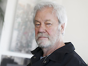 Canadian actor, writer and artist Gordon Pincen at home. Age 79.