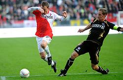 08-11-2009 VOETBAL: FC UTRECHT - HEERENVEEN: UTRECHT<br /> Utrecht verliest met 3-2 van Heerenveen / Tim Cornelisse en Michel Breuer<br /> ©2009-WWW.FOTOHOOGENDOORN.NL