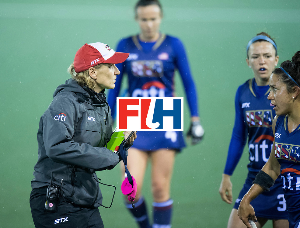 AUCKLAND - Sentinel Hockey World League final women<br /> Match id 10296<br /> 06 Usa v Netherlands<br /> Foto: Janneke SCHOPMAN Head Coach <br /> WORLDSPORTPICS COPYRIGHT FRANK UIJLENBROEK
