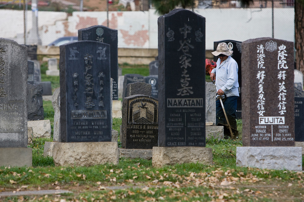 The Evergreen Cemetery in East Los Angeles dates back to the 1800's and has sections for various ethnic groups. Please contact Todd Bigelow directly with your licensing requests.