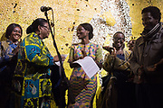 NANA OFORIATTA AYIM , CURATOR, FIRST LADY OF GHANA WIFE OF THE PRESIDENT, OPENING OF THE GHANA PAVILION, Designed by David Adjaye, Opening of the Venice Biennale, Venice, 8 May 2019