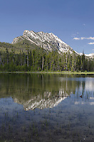 McDonald Lake Sawtooth Mountains Idaho