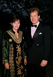 LORD & LADY IVAR MOUNTBATTEN at a ball in London on 17th June 1997. <br /> LZL 35