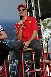 March 16, 2019 - SEBASTIAN VETTEL attending the F1 Driver Q&A Panel on Qualifying Saturday at the 2019 Formula 1 Australian Grand Prix on March 16, 2019 In Melbourne, Australia  (Credit Image: © Christopher Khoury/Australian Press Agency via ZUMA  Wire)