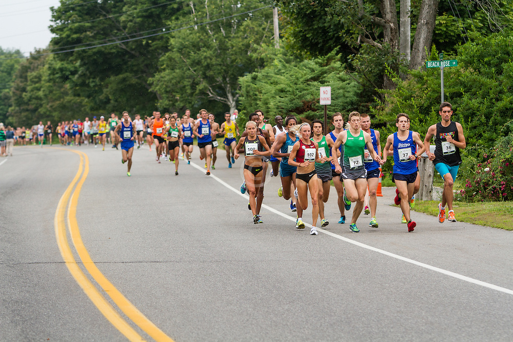 lead pack of women: Hasay, Flanagan