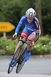 26.06.2015, Einhausen, GER, Deutsche Strassen Meisterschaften, im Bild Luisa Kattinger (RV Conc. 1926 Karbach) // during the German Road Championships at Einhausen, Germany on 2015/06/26. EXPA Pictures © 2015, PhotoCredit: EXPA/ Eibner-Pressefoto/ Bermel<br /> <br /> *****ATTENTION - OUT of GER*****