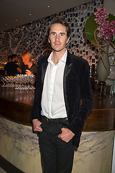 OTIS FERRY at a party to celebrate the 10th anniversary of Nobu Berkeley Street held on 5th November 2015.
