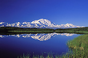 Reflection Pond and Mount McKinley<br /> Denali National Park, Alaska
