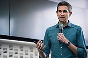 Author and Creator John Zeratsky at Wisconsin Entrepreneurship Conference at Venue 42 in Milwaukee, Wisconsin, Wednesday, June 5, 2019.