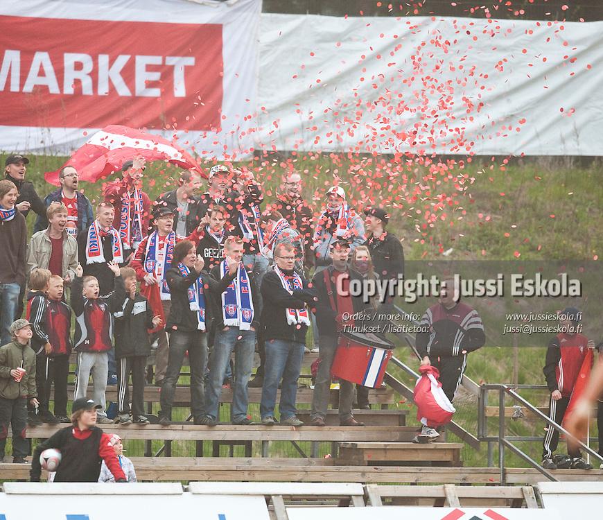 Viikingit - AC Oulu. Ykkönen 21.5.2009. Photo: Jussi Eskola
