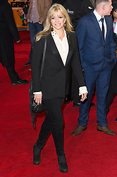 © Licensed to London News Pictures. 22/02/2016. JO WOOD attends the GRIMSBY Film premiere. The film centres around a black-ops spy whose brother is a football hooligan.  London, UK. Photo credit: Ray Tang/LNP