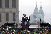 BARACK OBAMA IN PRAGUE