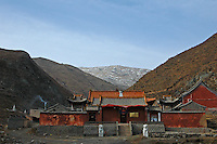 China, Wutai Shan, 2008. In Wutai Shan, isolation can also mean poverty, in the case of this lonely temple far from the summer crowds, who fund better known places with ticket sales and contributions.