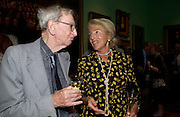 Eric Hobsbaun and Hella Pick. Celebration of Lord Weidenfeld's 60 Years in Publishing hosted by Orion. the Weldon Galleries. National Portrait Gallery. London. 29 June 2005. ONE TIME USE ONLY - DO NOT ARCHIVE  © Copyright Photograph by Dafydd Jones 66 Stockwell Park Rd. London SW9 0DA Tel 020 7733 0108 www.dafjones.com