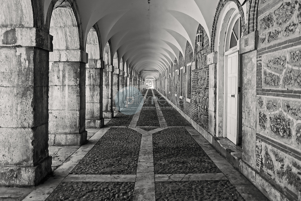 Detalle de los soportales del Palacio Real de Aranjuez. Madrid. España ©Jose Redondo Villalon / sejo redondo / PILAR REVILLA
