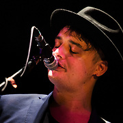 Peter Doherty plays live at the Hackney Empire in London, United Kingdom 20th May 2016. Kristian Buus/Alamy Live News