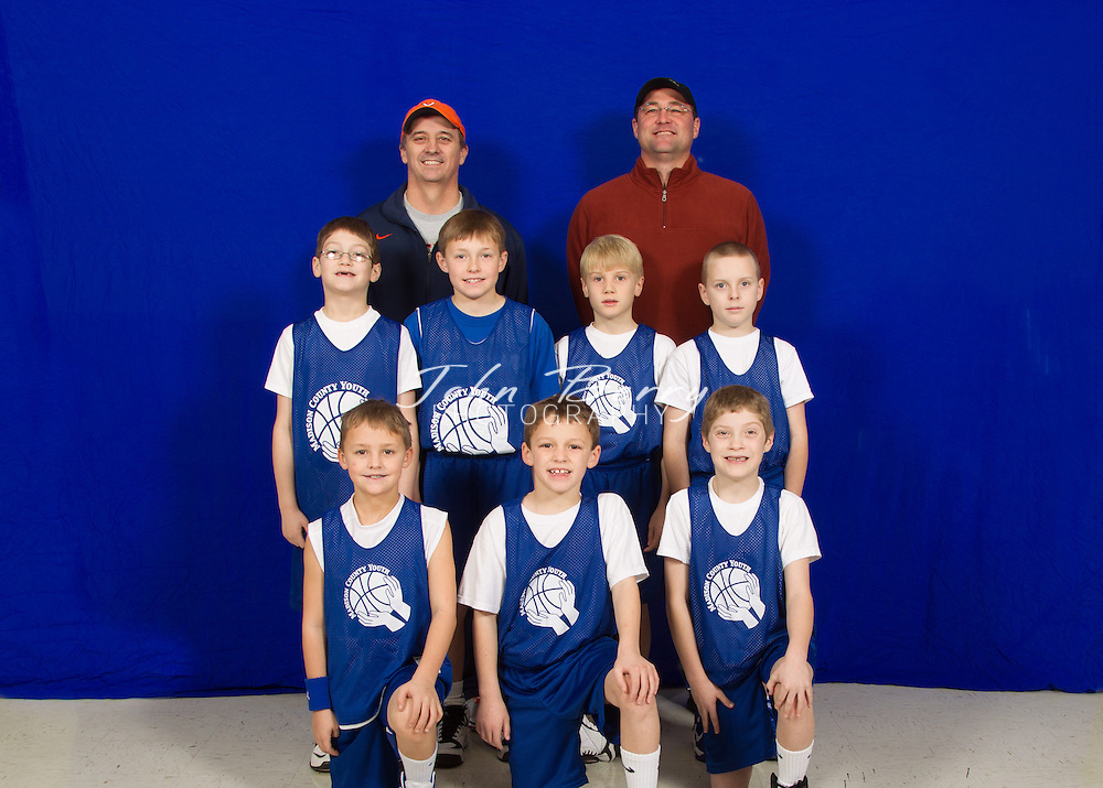February/2/13:  Madison County Youth Basketball Team and Individual photos.