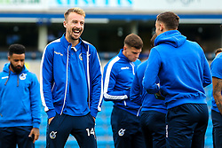 Chris Lines of Bristol Rovers arrives at Adams Park for the Sky Bet League One fixture against Wycombe Wanderers - Mandatory by-line: Robbie Stephenson/JMP - 18/08/2018 - FOOTBALL - Adam's Park - High Wycombe, England - Wycombe Wanderers v Bristol Rovers - Sky Bet League One
