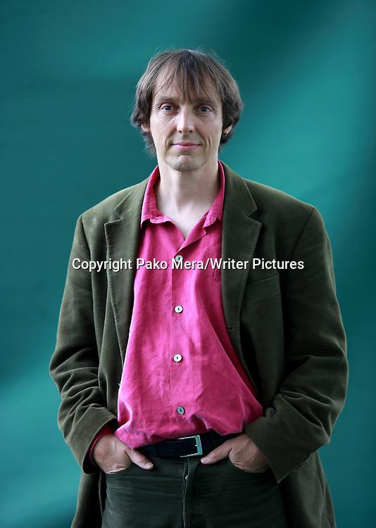 Philip Ball, English science writer, at the 2011 Edinburgh Book Festival, August 16, 2011.