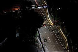 Motorsports / Formula 1: World Championship 2010, GP of Singapore,  circuit, 19 Heikki Kovalainen (FIN, Lotus F1 Racing), 08 Fernando Alonso (ESP, Scuderia Ferrari Marlboro),